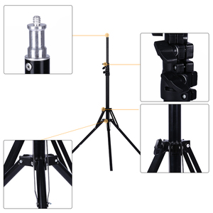 Image 3 - Professional Adjustable 1.84M Light Stand Tripod With 1/4 Screw Head For Photo Studio Flashes Photographic Lighting Softbox