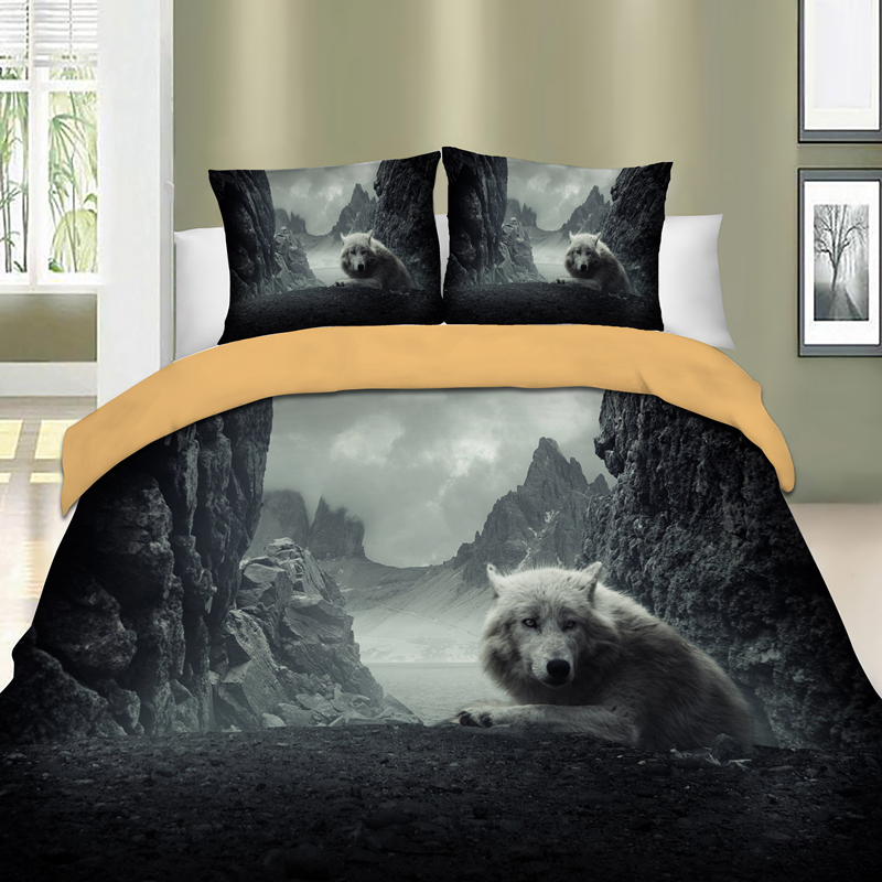 Dragon Duvet Cover Pillow Case Set Twin Full Queen King Bedding Animal Pink New