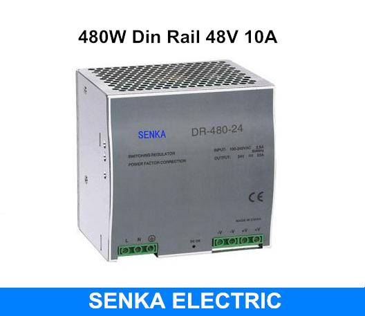 480W 48V 10A switching power supply din rail switching power supply smps MDR-480-48 платье sweewe sweewe sw007ewrql56
