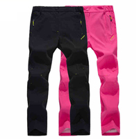 2017 New Summer Women Trekking Pants Female Outdoor Quick Dry Trousers Breathable UV Hiking Camping Climbing Clothing RW093