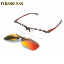 Yi Jiang Nan Марка Top Quality TR90 Рамка Спорт Окуляри Мода Сонцезахисні окуляри для чоловіків Кріплення окулярів Поляризовані лінзи Сонцезахисні окуляри