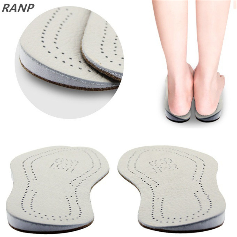 Breathable Comfortable Leather Silicone Insole Orthotic Arch Support Insole Flat Foot Corrector Shoe Cushion Pad Insert Hot Sale 2017 breathable shoe pad shock absorption sport insoles orthopedic flat foot arch support insole cushion shoe accessories insert