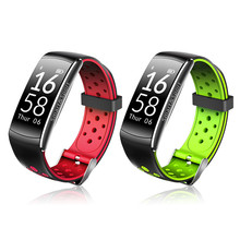 Q8 Pulseiras Inteligentes Водонепроницаемый Bluetooth smart Сердечного ритма Monitores браслет Фитнес трекер для смартфонов IOS и Android