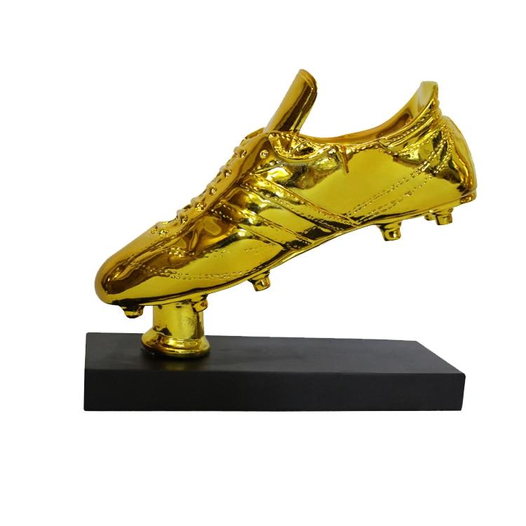 Golden Boot Award Fu/ßball Trophy for Fans//Souvenir//Sammlung//Geschenk//Hauptdekoration//Awards for Fu/ßballspiel SXQ Golden Boot Trophy Color : Gold
