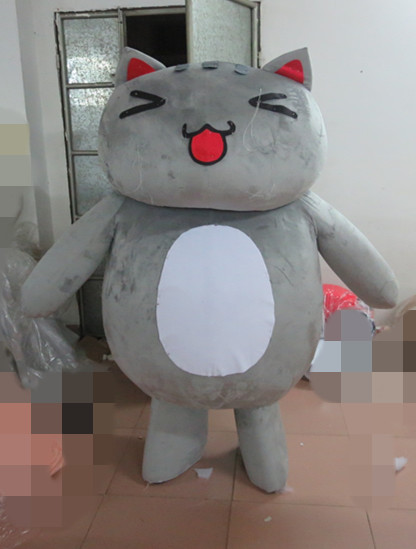 High quality plush adult sylvester the cat mascot costume Holiday special clothing