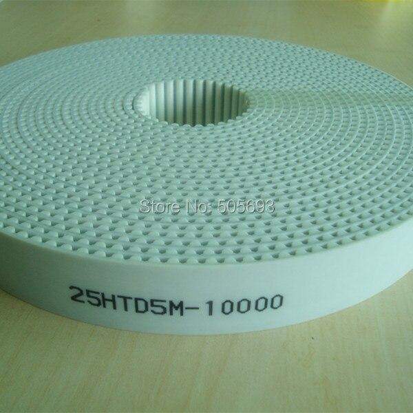 HTD5M Open timing belt PU 10 m length 25mm width