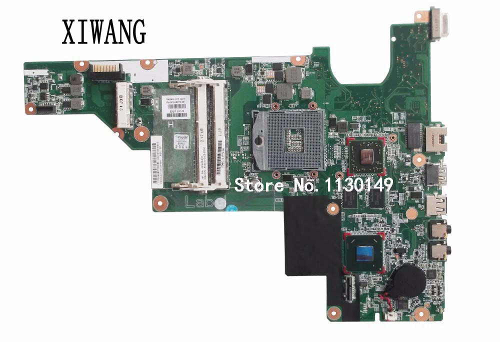Free Shipping NEW for HP 431 Motherboard 631 CQ431 HM65 Laptop Motherboard 646672-001 100% Tested for sony mbx 165 ms90 system motherboard tested working perfect free shipping brand new