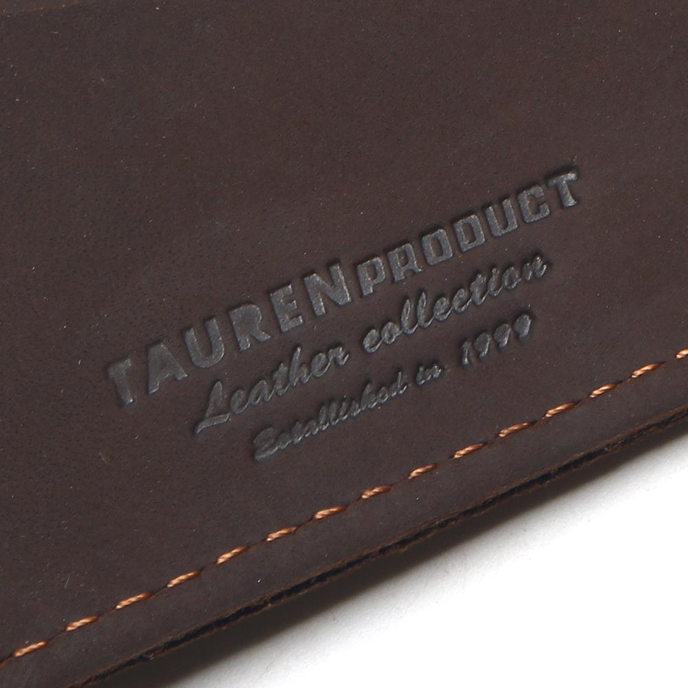 Купить с кэшбэком TAUREN 2020 100% Cow Genuine Leather Men Wallets Vertical Style Crazy Horse Leather Newest Desgin Male Purse Leather Thin Wallet
