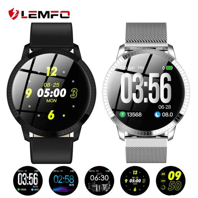 57a2c8079 ... Reloj Inteligente Mujer Monitor de presión arterial Frecuencia cardiaca  Recordatorio de mensaje llamadas Podómetro calorías Smartwatch mujer hombre