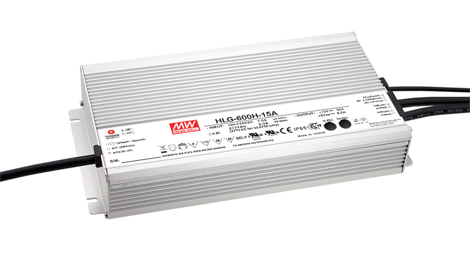 все цены на  1MEAN WELL original HLG-600H-24B 24V 25A meanwell HLG-600H 24V 600W Single Output LED Driver Power Supply B type  онлайн
