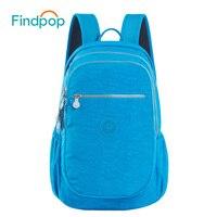Findpop School Bags Women Laptop Backpack 2017 New Unisex Backpacks For Teenager Brand Mochila Feminina Nylon