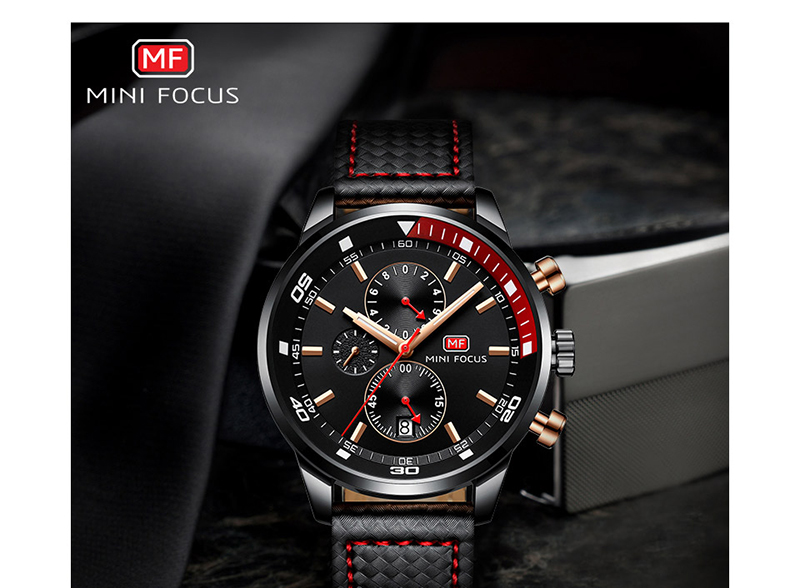 Watches Men 2019 Luxury Brand MINI FOCUS Quartz Fashion Leather Watch Man Chronograph Male Wristwatch Men relogio masculino 2018 (1)