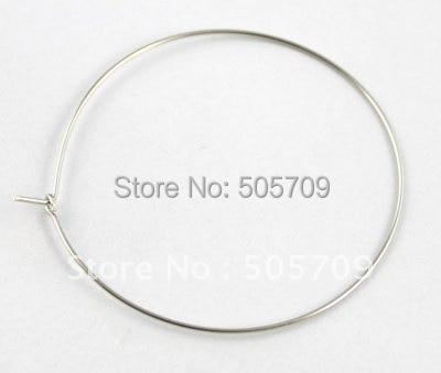 1500 шт шармы для Винных Бокалов Hoops провода 44 мм#20585