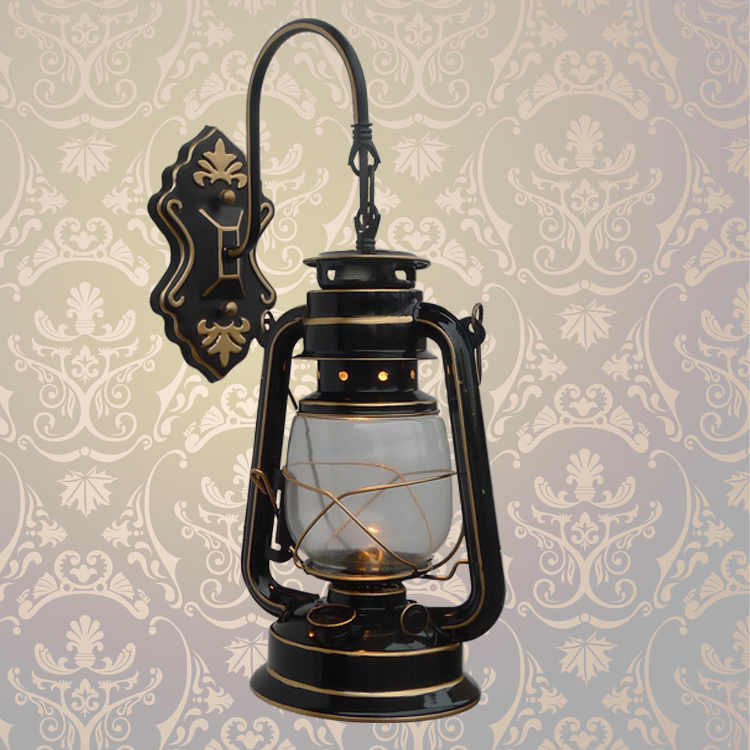 ФОТО A1 Shipping Chinese lantern lamp wall lamp wall lamp bedroom balcony garden lighting lamp Home Furnishing nostalgic wind B1-019