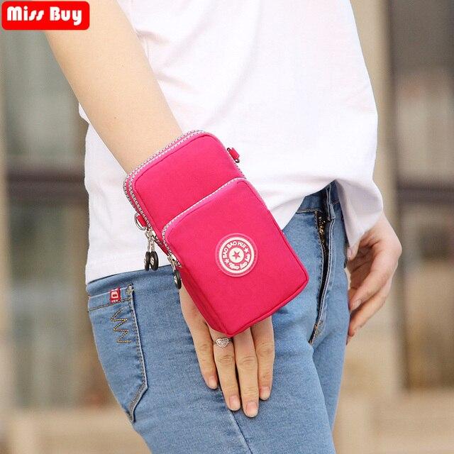 Универсальная спортивная сумка для бега Missbuy для samsung/iPhone/huawei/htc/LG, чехол-кошелек для улицы, наплечный чехол для телефона, карман