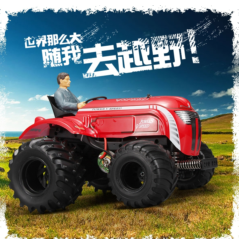 WLtoys P949 1/10 2.4GHz 2WD  Electric RC Tractor Car RTR 2.4GHz rc truck wltoys k969 1 28 2 4g 4wd electric rc car 30kmh rtr version high speed drift car