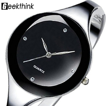 Stylish Stainless Steel Women's Wrist Watch