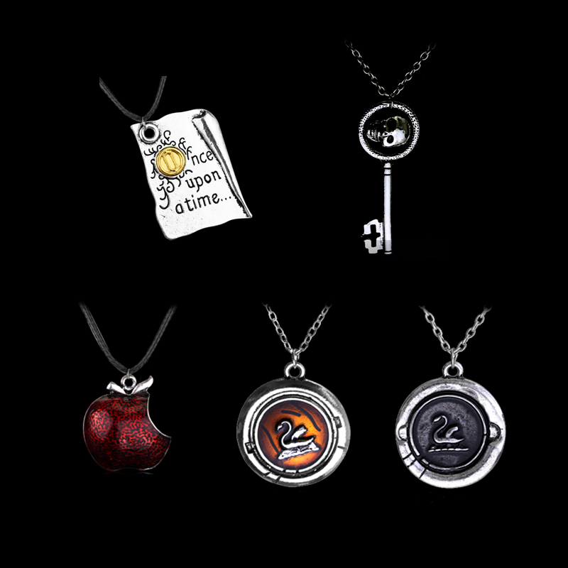 Evil Queen Necklace Once Upon a Time Poison Apple Necklace Evil Queen is Back