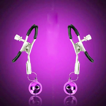 Newest Steel Breast Nipple Clamps Clips Adult Game Sex Product Flirting Sex Toys for Women