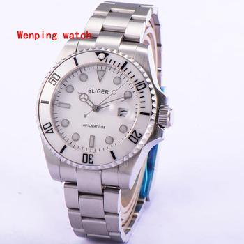 Luxury Hot Selling Brand Bliger 43mm Sapphire Glass Ceramics Bezel  Fashion classics Automatic Men's Watch 1880