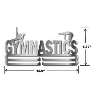 Image 5 - Вешалка для медалей для гимнастики, вешалка для спортивных медалей, держатель для медалей из нержавеющей стали
