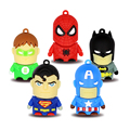 Superhero usb flash drive mini captain American spider man batman 4GB 8GB16GB 32GB 64GB pendrive memory drives pen drive