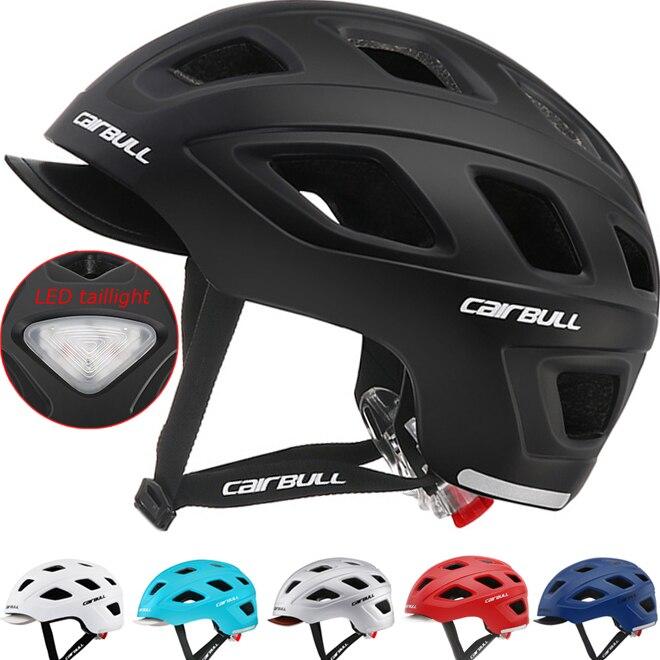 Bmx Helmet Skateboard Detachable Bike Taillight Cycling Utility-Commuter Road-Racing