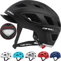 Erwachsene/Kid Fahrrad Helm Städtischen Utility Pendler Road Racing Radfahren Bike Abnehmbare Visier/LED Rücklicht Skateboard BMX Helm
