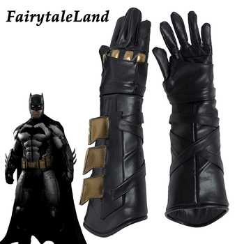 Batman Cosplay Accessory Superhero cosplay Batman gloves Fancy leather cosplay gloves Justice League Batman cosplay accessories - DISCOUNT ITEM  0% OFF All Category