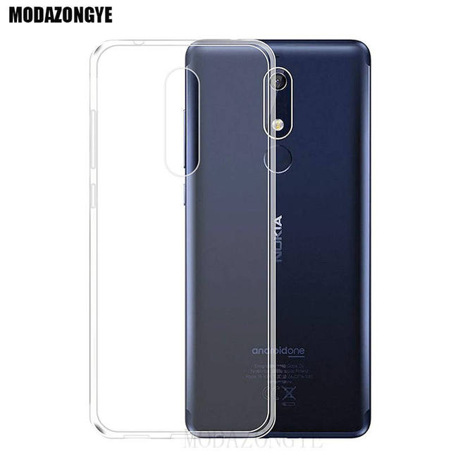 size 40 83285 14899 US $1.59 20% OFF|For Nokia 5.1 Case Nokia 5 2018 Case 5.5 Soft TPU Silicone  Cover Phone Case For Nokia 5.1 TA 1061 TA 1075 A 1076 TA 1081 TA 1088-in ...