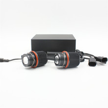 FSTUNING 12V 45W canbus E39 фар Светодиодный ангельские глазки габаритных лампочек для BMW E39 светодиодный X5 E53 E60 E61 E63 E65 E66 ангельские глазки