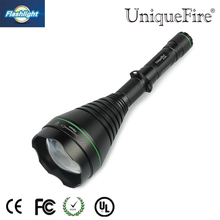 Professional 2016 Hunting Flashlight Uniquefire 1508-75mm IR 940nm LED Flashlight  Zoomable Night Vision For Camping Free Ship