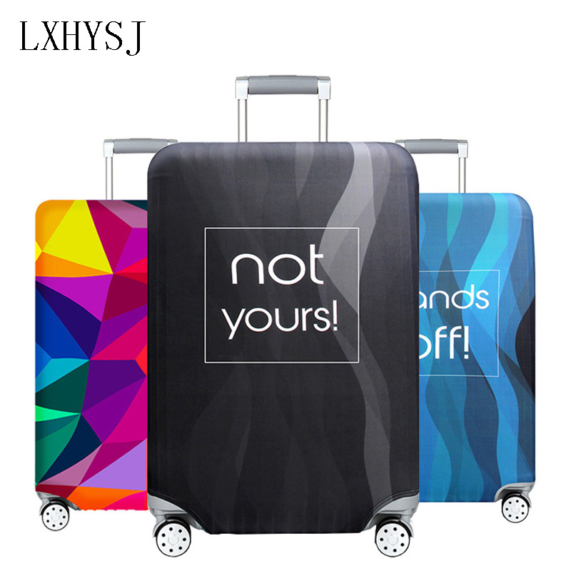 The New Thicken Elastic Fabric Luggage Protective Cover Suitable18-32 Inch  Trolley Case Suitcase Dust Cover Travel AccessoriesThe New Thicken Elastic Fabric Luggage Protective Cover Suitable18-32 Inch  Trolley Case Suitcase Dust Cover Travel Accessories