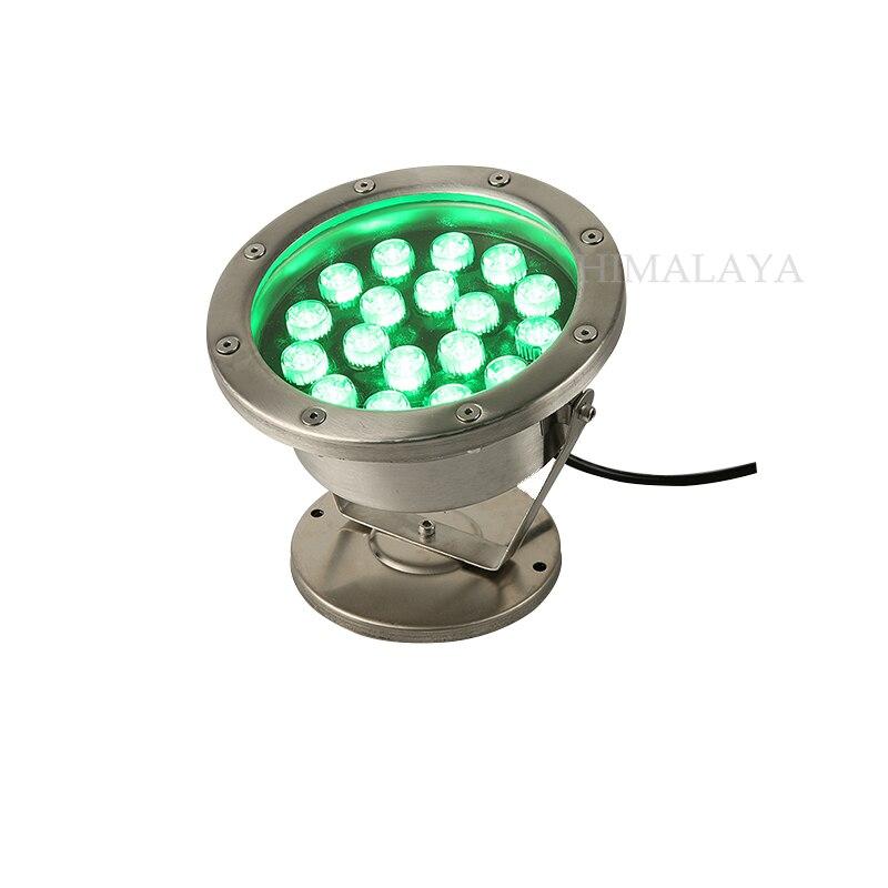 Toika 6pcs per lot 3W 6W 9W 12w 18W 24W 36W LED underwater light lamp fountain lamp led swimming pool light 12V