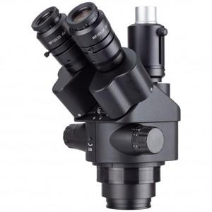 Image 1 - AmScope 7X 45X Black Simul Focal Trinocular Zoom Stereo Microscope Head Mobile phone repair equipment