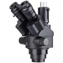 AmScope 7X 45X Schwarz Simul Brenn Trinocular Zoom Stereo Mikroskop Kopf handy reparatur ausrüstung