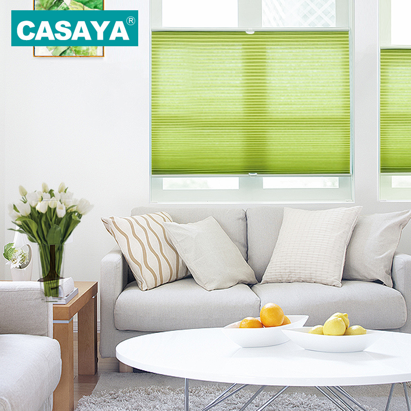 Side lock Honeycomb Blinds Cordless Push and pull Beehive Curtains Heat Insulation Inward Window Cellular Blinds