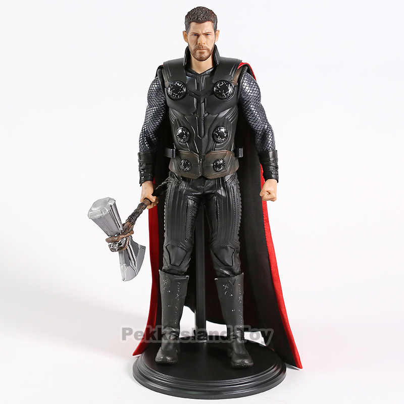 Thor Homem De Ferro Avengers Captian America 1/6th Escala PVC Action Figure Collectible Modelo Toy