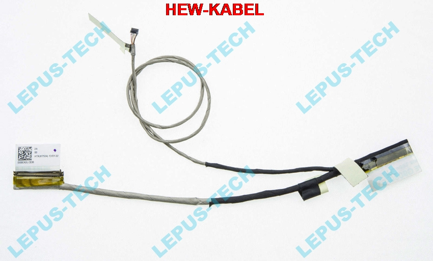 NEW 5 PCS LCD CABLE FOR <font><b>ASUS</b></font> <font><b>X201E</b></font> X201L X201S X202E <font><b>Q200E</b></font> S200E LED DD0EX2LC030 LVDS FLEX VIDEO CABLE image