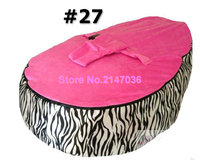 ZEBRA hotsell baby bean bag chair, waterproof kids deep sleep bean bag sofa seat child snuggle pods free shipping