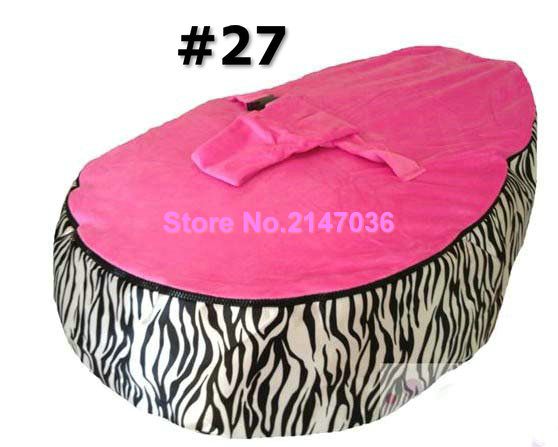 ZEBRA hotsell baby bean bag chair, waterproof kids deep sleep bean bag sofa seat - child snuggle pods - free shipping actionclub high quality waterproof inflatable baby chair for feeding bean bag bath seat kawaii bear monkey baby sofa 64 61 74cm