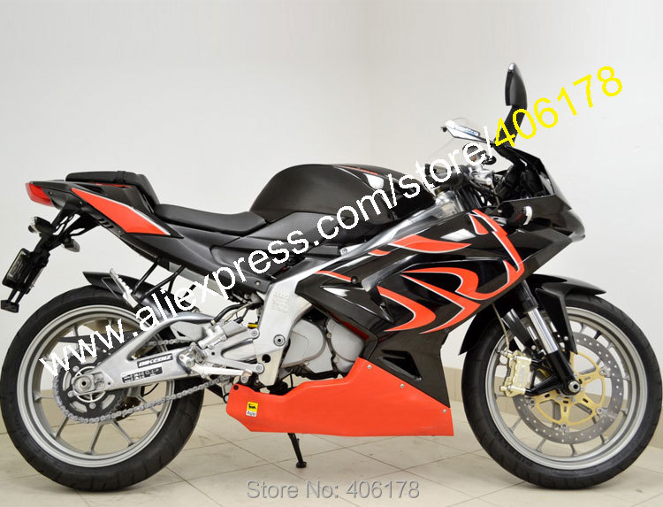 Hot Sales,Red Black For Aprilia RS125 RS125 06-11 RS 125 2006 2007 2008 2009 2010 2011 Lionhead Moto Fairing (Injection molding)
