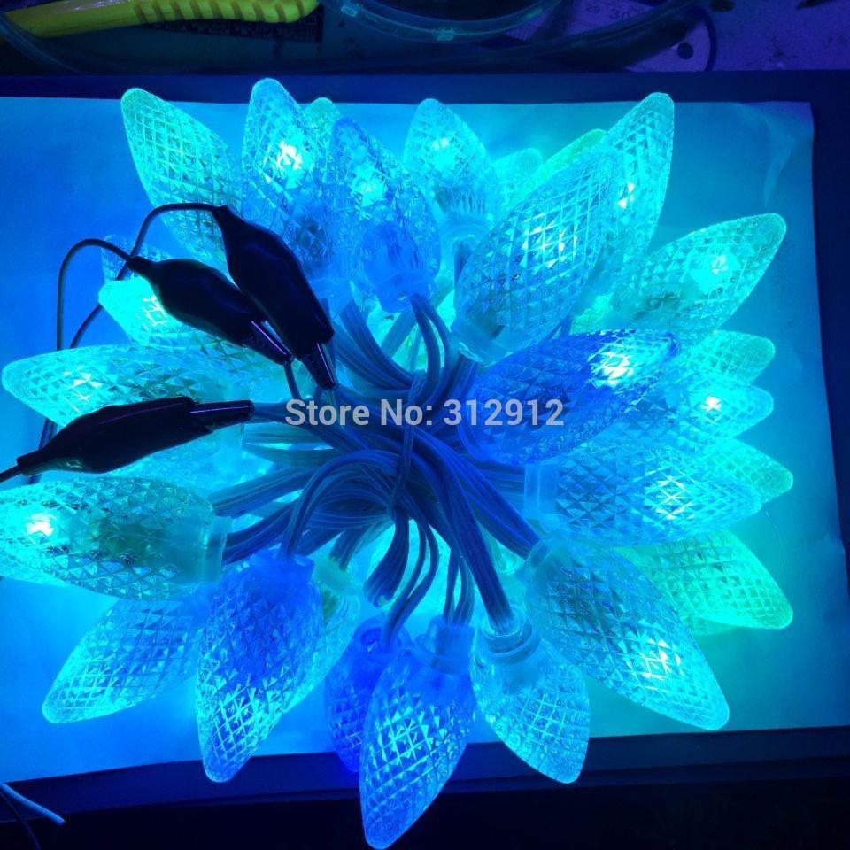 ⑥DC5V 50 nodos WS2811 C9 luz del pixel 12mm diámetro; IP68 nominal ...