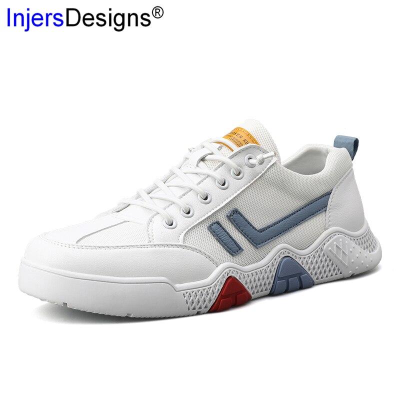 Nouveauté mode baskets Beige blanc marche chaussures hommes respirant confortable hommes formateurs doux antidérapant chaussures hommes décontractées