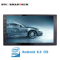 New 2 Din 7 Inch Car Multimedia Player Intel SoFIA QuadCore Android 5 1 Full Touch