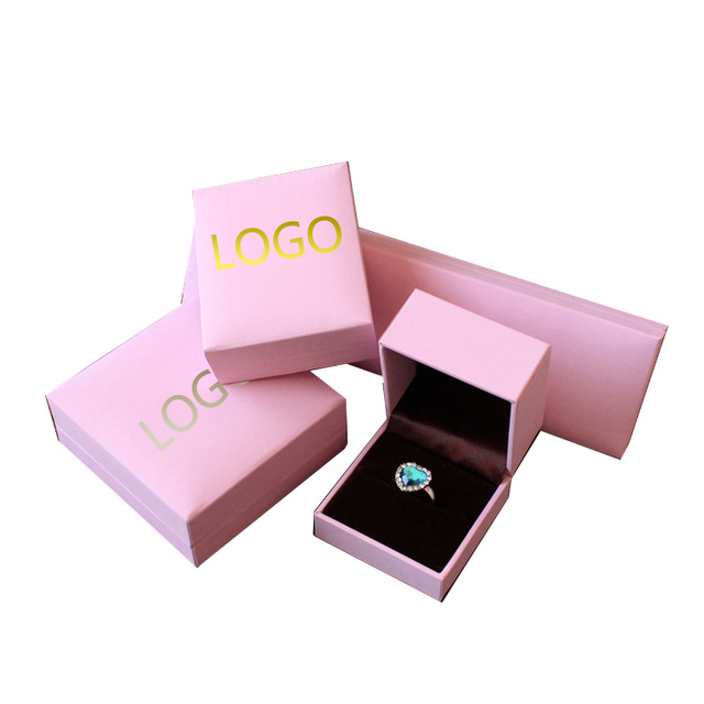 4 sizes pink Jewelry Boxes and Packaging Organizer for Bracelet