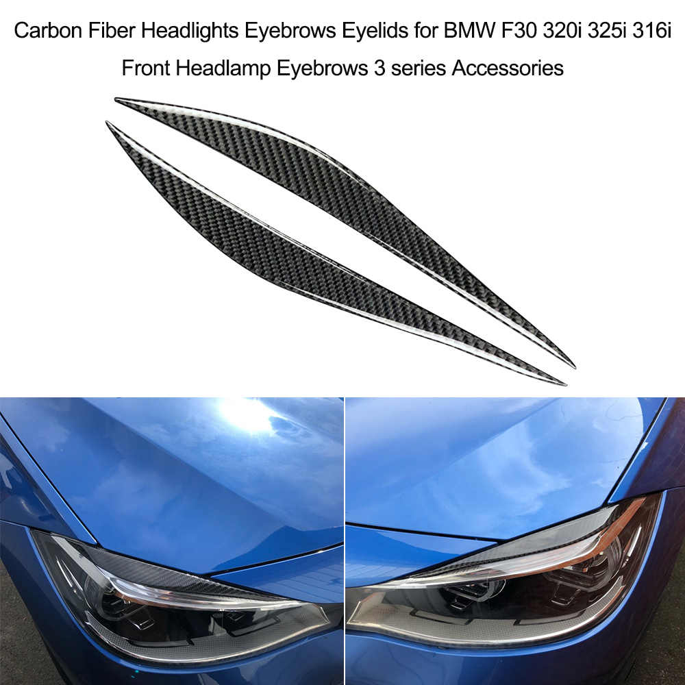 Detail Feedback Questions About Carbon Fiber Headlights Eyebrows