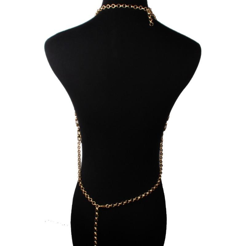 HTB1nEQNKVXXXXXyaXXXq6xXFXXXp Metal Body Necklace Chain Choker Bralette
