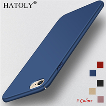HATOLY For Phone Case Iphone 6 6s/6 plus/6s plus Cover Slim Smooth & Ultra-thin PC Case For Iphone 6 6s / 6 plus / 6s plus Case< red line для iphone 6 plus 6s plus