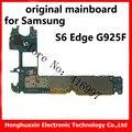 S6 Edge G925F original motherboard 32GB 3GB RAM true octa-core CPU main board for samsung smart phone good working logic board